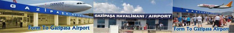 Gazipasa Airport Transfer Service
